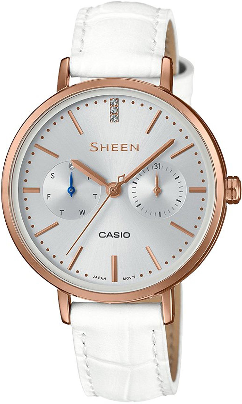Casio Sheen SHE-3054PGL-7A casio she 4022d 7a