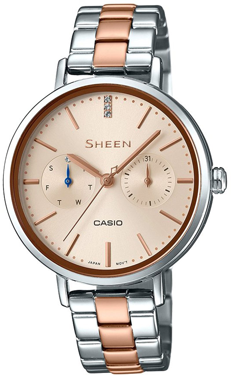 Casio Sheen SHE-3054SPG-4A casio sheen she 3511l 7a