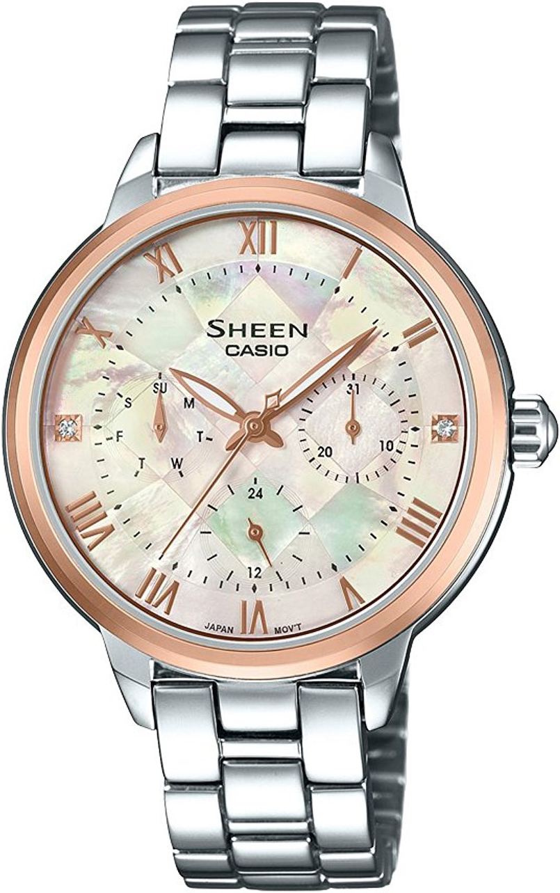 Casio Sheen SHE-3055SG-7A casio часы casio she 3049pgl 7a коллекция sheen
