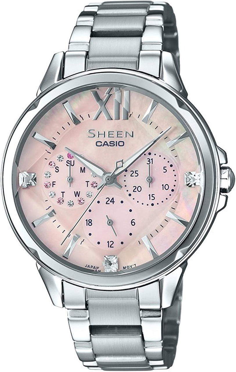 Casio Sheen SHE-3056D-4A dorapang 100