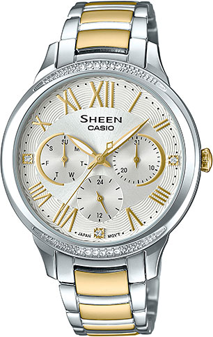 Casio Sheen SHE-3058SG-7A casio часы casio she 3049pgl 7a коллекция sheen