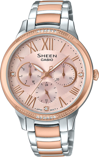 Casio Sheen SHE-3058SPG-4A casio casio she 5516sg 5a