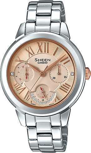 Casio Sheen SHE-3059D-9A casio sheen she 3511l 7a