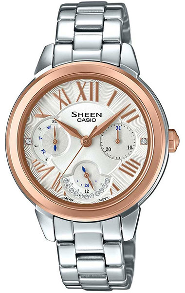 Casio Sheen SHE-3059SG-7A casio часы casio she 3049pgl 7a коллекция sheen