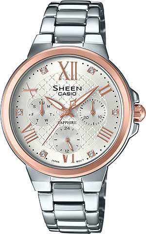Casio Sheen SHE-3511SG-7A casio часы casio she 3049pgl 7a коллекция sheen