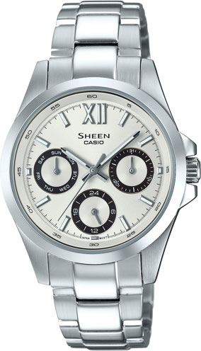 Casio Sheen SHE-3512D-7A casio часы casio she 3049pgl 7a коллекция sheen