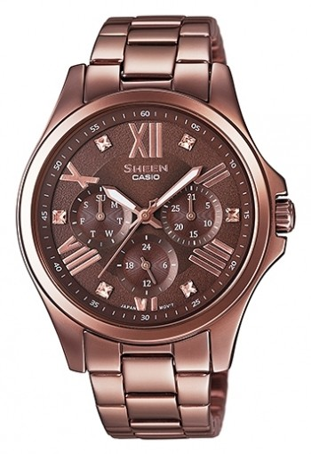 Casio Sheen Multi-Hand SHE-3806BR-5A