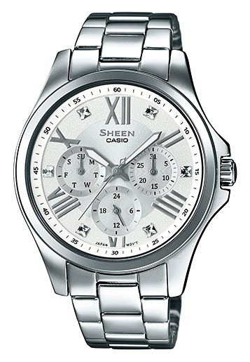Casio Sheen SHE-3806D-7A casio часы casio she 3049pgl 7a коллекция sheen