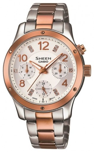 Casio Sheen Multi-Hand SHE-3807SPG-7A