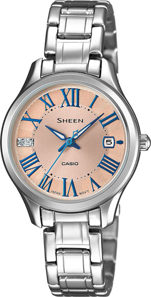 Casio Sheen SHE-4050D-9A часы casio she 4512pg 9a