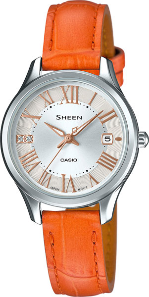 Casio Sheen SHE-4050L-7A casio casio she 5516sg 5a