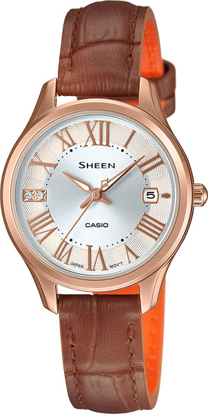Casio Sheen SHE-4050PGL-7A casio часы casio she 3049pgl 7a коллекция sheen