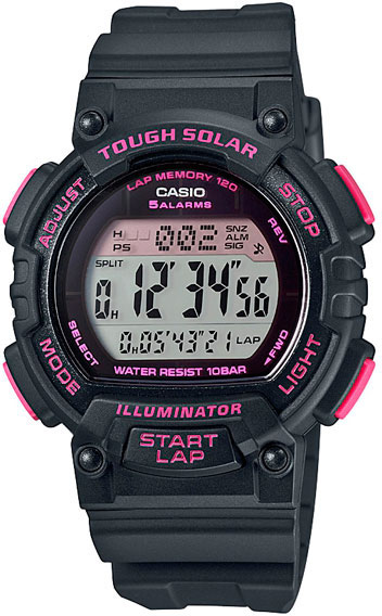 Casio Sports STL-S300H-1C часы casio collection stl s300h 1a black silver
