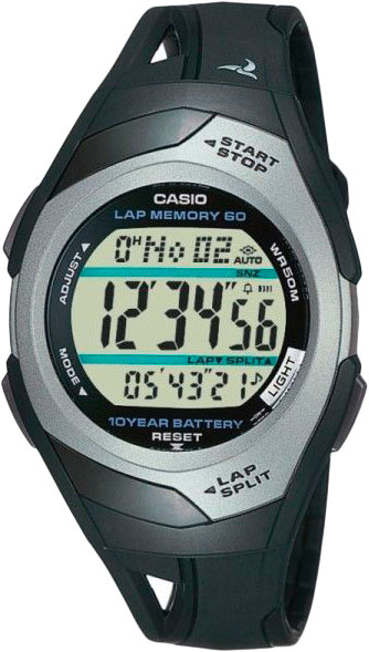 Casio Sports STR-300C-1 мужские часы casio str 300c 2v