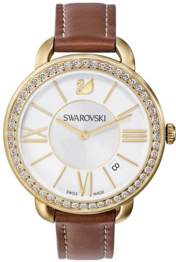 Swarovski Aila Day Brown Yellow Gold Tone 5095940