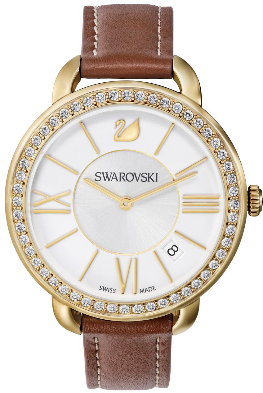 Swarovski Aila Day Brown Yellow Gold Tone 5095940 трекинговая палатка high peak texel 4