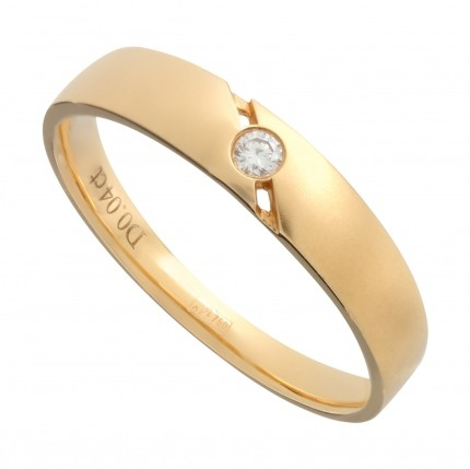 Кольцо NeoGold Wedding Ring W 07Y(m)D