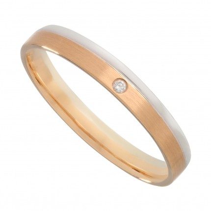 Кольцо NeoGold Wedding Ring W 28WR(f)D