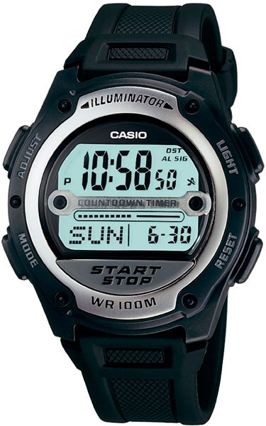 Casio W-756-1A casio w 212hd 1a