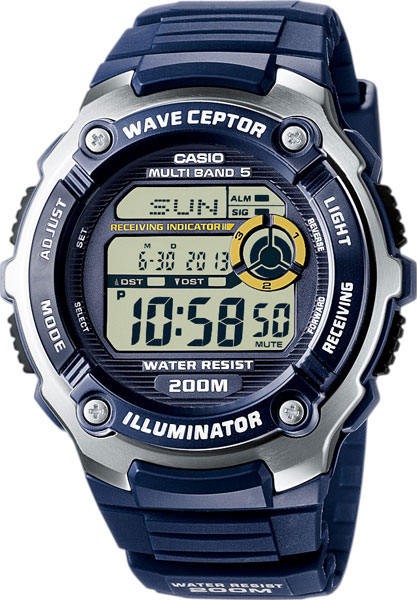 Casio Wave Ceptor WV-200E-2A casio часы casio wv 200e 4a коллекция wave ceptor