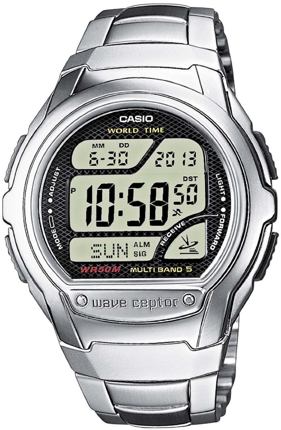 Casio Wave Ceptor WV-58DE-1A casio часы casio wv 200e 2a коллекция wave ceptor