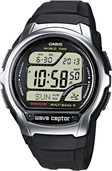 Casio Wave Ceptor WV-58E-1A casio часы casio wv 200e 4a коллекция wave ceptor