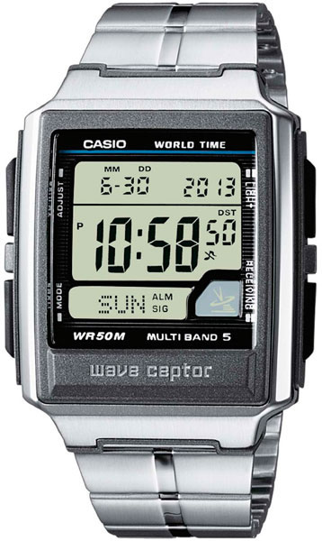 Casio Wave Ceptor WV-59DE-1A casio часы casio wv m60b 1a коллекция wave ceptor