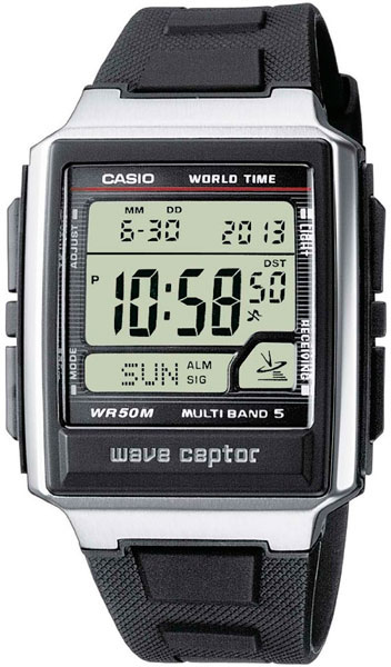 Casio Wave Ceptor WV-59E-1A casio часы casio wv 200e 2a коллекция wave ceptor