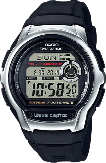 Casio Wave Ceptor WV-M60-1A casio часы casio wv 200e 2a коллекция wave ceptor