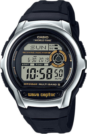Casio Wave Ceptor WV-M60-9A мужские часы casio w 213 9a