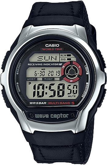 Casio Wave Ceptor WV-M60B-1A casio часы casio wv m60b 1a коллекция wave ceptor