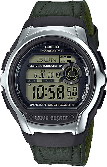 Casio Wave Ceptor WV-M60B-3A casio часы casio wv m60b 1a коллекция wave ceptor