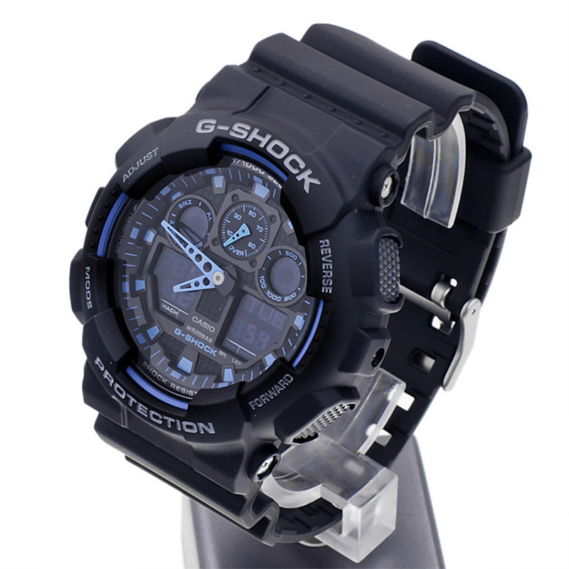 Япония часы Casio G-Shock GA-100-1A2