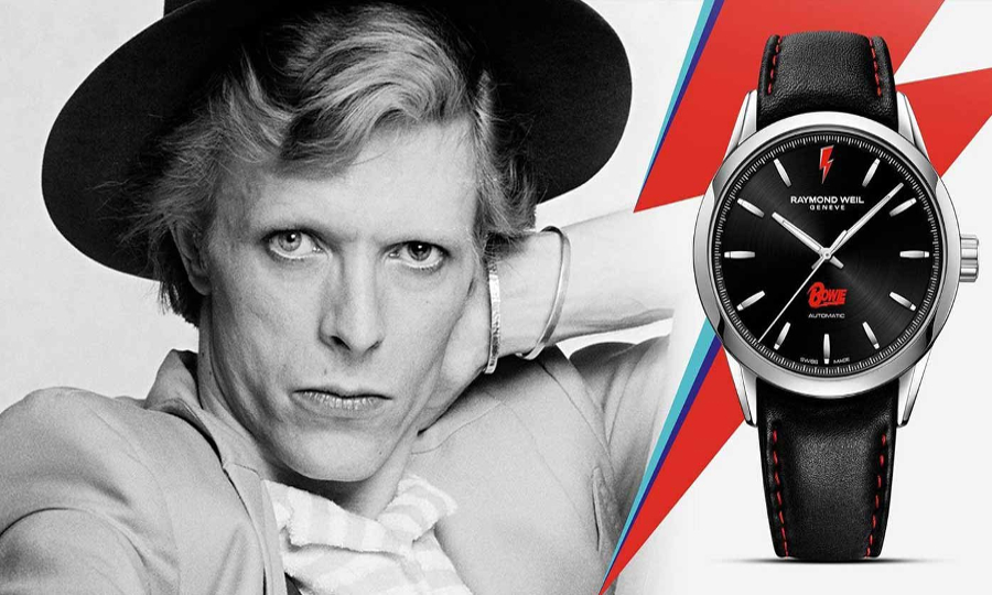 Raymond Weil Freelancer David Bowie Limited Edition.