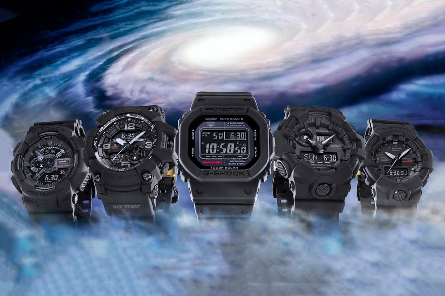 Коллекция Casio G-Shock Big Bang Black к 35-летию