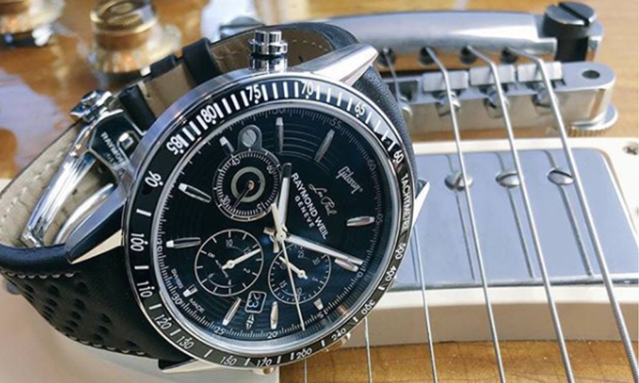Швейцарские часы Raymond Weil Freelancer Les Paul Gibson