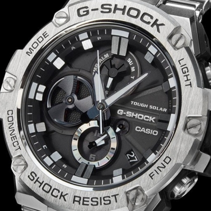 Обзор часов Casio G-Shock G-Steel GST-B100D-1A