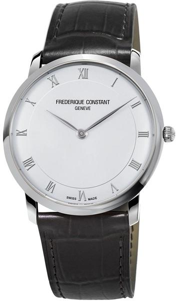 Frederique Constant FC-200RS5S36Наручные часы<br>Швейцарские часы Frederique Constant SlimLine&amp;nbsp;FC-200RS5S36<br><br>Пол: Unisex<br>Страна-производитель: Швейцария<br>Механизм: Кварцевый<br>Материал корпуса: Сталь<br>Материал ремня/браслета: Кожа<br>Водозащита, диапазон: 30 - 60 м<br>Стекло: Сапфировое<br>Толщина корпуса: 5 мм<br>Стиль: Классика