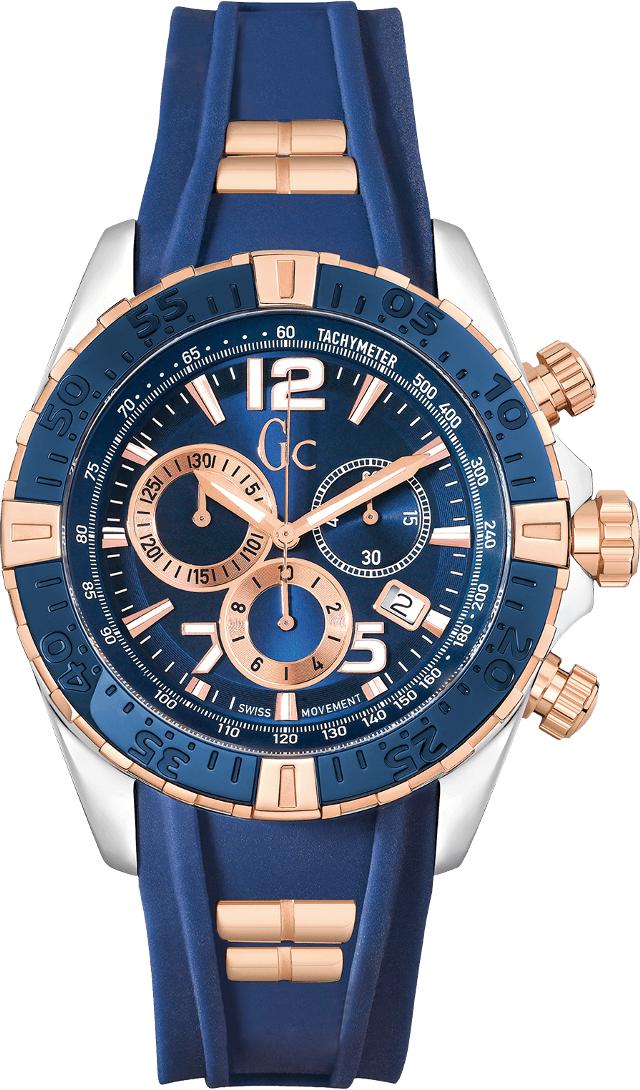Gc Sport Chic Y02009G7Наручные часы<br>Швейцарские часы Gc Sport Chic Y02009G7<br><br>Пол: Мужские<br>Страна-производитель: Швейцария<br>Механизм: Кварцевый<br>Материал корпуса: Сталь<br>Материал ремня/браслета: Силикон<br>Водозащита, диапазон: None<br>Стекло: Минеральное<br>Толщина корпуса: 12 мм<br>Стиль: None