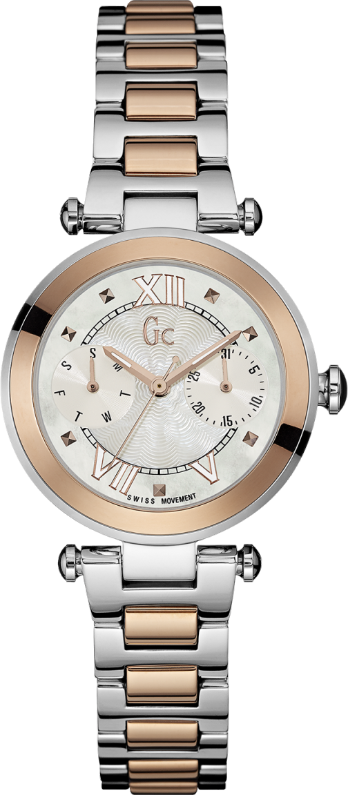 Gc Sport Chic Y06002L1Наручные часы<br>Швейцарские часы Gc Sport Chic Y06002L1<br><br>Пол: Женские<br>Страна-производитель: Швейцария<br>Механизм: Кварцевый<br>Материал корпуса: Сталь<br>Материал ремня/браслета: Сталь<br>Водозащита, диапазон: None<br>Стекло: Минеральное<br>Толщина корпуса: 9,5 мм<br>Стиль: None