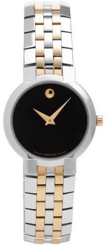 Movado Faceto 606063Наручные часы<br>Швейцарские часы Movado Faceto 606063<br><br>Пол: Женские<br>Страна-производитель: Швейцария<br>Механизм: Кварцевый<br>Материал корпуса: Золото+сталь<br>Материал ремня/браслета: Сталь+золото<br>Водозащита, диапазон: 20 - 100 м<br>Стекло: Сапфировое<br>Толщина корпуса: None<br>Стиль: Классика