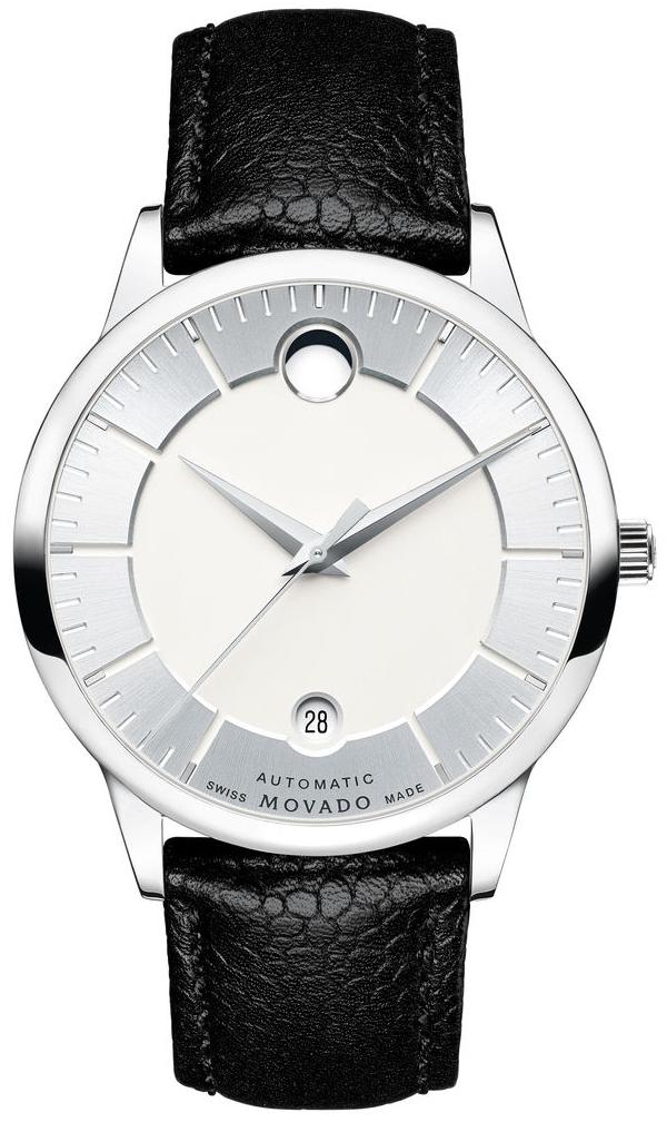 Movado 1881 Automatic 0607022Наручные часы<br>Швейцарские часы Movado 1881 Automatic 0607022<br><br>Пол: Мужские<br>Страна-производитель: Швейцария<br>Механизм: Кварцевый<br>Материал корпуса: Сталь<br>Материал ремня/браслета: Кожа<br>Водозащита, диапазон: None<br>Стекло: Сапфировое<br>Толщина корпуса: None<br>Стиль: None