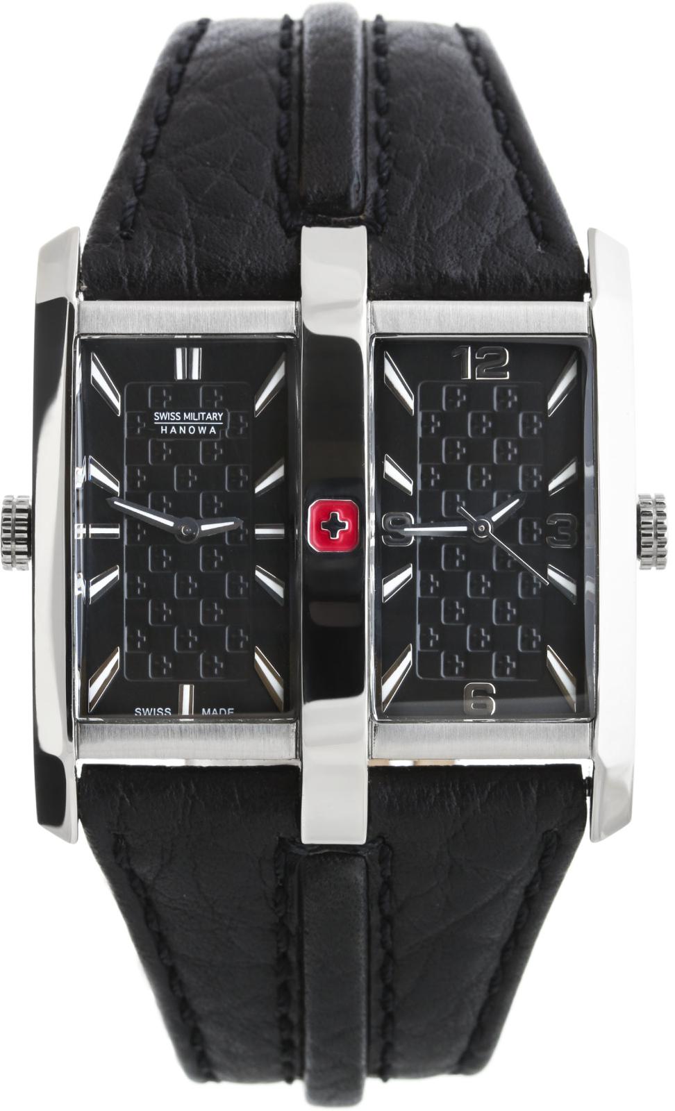 Hanowa Swiss Military Traveller 06-4189.04.007Наручные часы<br>Швейцарские часы Hanowa Swiss Military Traveller 06-4189.04.007Модель входит в коллекцию Traveller. Это великолепные Мужские часы. Материал корпуса часов — Сталь. Ремень — Кожа. Стекло - Минеральное. Водозащита этой модели 50 м.<br><br>Пол: Мужские<br>Страна-производитель: Швейцария<br>Механизм: Кварцевый<br>Материал корпуса: Сталь<br>Материал ремня/браслета: Кожа<br>Водозащита, диапазон: 100 - 150 м<br>Стекло: Минеральное<br>Толщина корпуса: None<br>Стиль: None