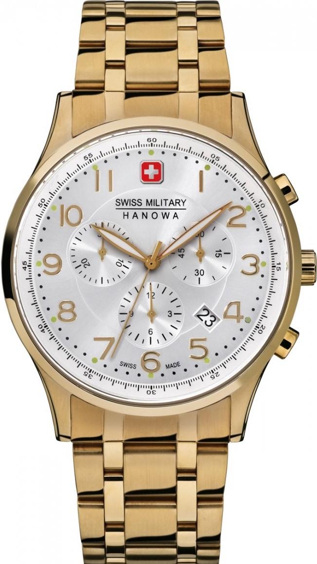 Hanowa Swiss Military Classic Line 06-5187.02.001Наручные часы<br>Швейцарские часы Hanowa Swiss Military Classic Line 06-5187.02.001<br><br>Пол: Мужские<br>Страна-производитель: Швейцария<br>Механизм: Кварцевый<br>Материал корпуса: Сталь<br>Материал ремня/браслета: Сталь<br>Водозащита, диапазон: 100 - 150 м<br>Стекло: Сапфировое<br>Толщина корпуса: None<br>Стиль: Классика
