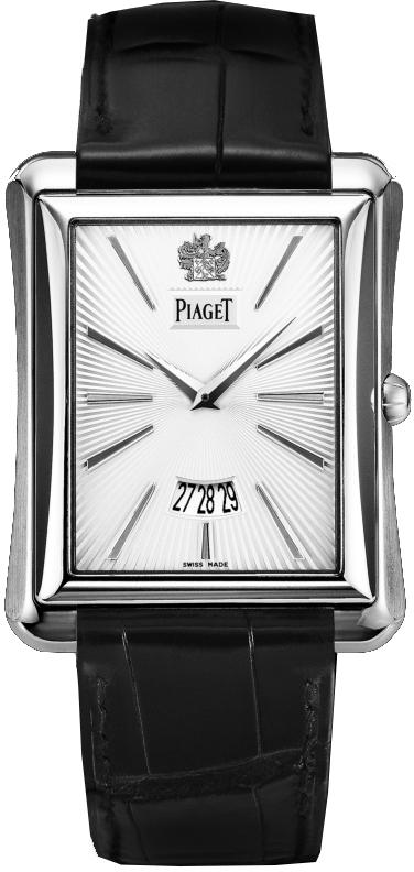 Piaget Emperador G0A32120Наручные часы<br>Швейцарские часы Piaget Emperador G0A32120Данная модель входит в коллекцию Emperador. Это стильные мужские часы. Материал корпуса часов — золото. Циферблат часов защищает сапфировое стекло. Часы этой модели обладают водозащитой 30 м. Цвет циферблата - белый. Часы обладают корпусом 38мм.<br><br>Пол: Мужские<br>Страна-производитель: Швейцария<br>Механизм: Механический<br>Материал корпуса: Золото<br>Материал ремня/браслета: Кожа<br>Водозащита, диапазон: 20 - 100 м<br>Стекло: Сапфировое<br>Толщина корпуса: None<br>Стиль: Классика
