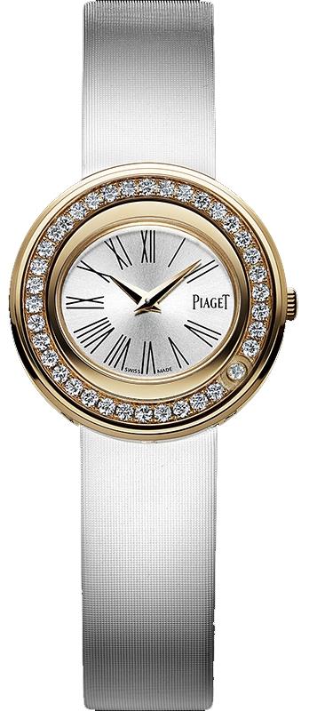 Piaget Possession G0A36188Наручные часы<br>Швейцарские часы Piaget Possession G0A36188<br><br>Пол: Женские<br>Страна-производитель: Швейцария<br>Механизм: Кварцевый<br>Материал корпуса: Золото 18К<br>Материал ремня/браслета: Текстиль<br>Водозащита, диапазон: 20 - 100 м<br>Стекло: Сапфировое<br>Толщина корпуса: 6 мм<br>Стиль: Классика