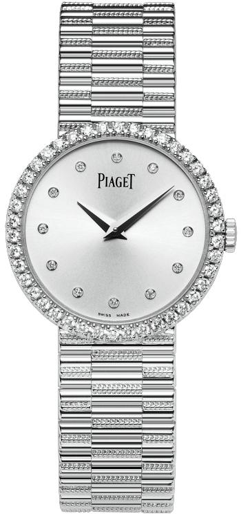 Piaget Dancer  G0A37041Наручные часы<br>Швейцарские часы Piaget Dancer G0A37041<br><br>Пол: Женские<br>Страна-производитель: Швейцария<br>Механизм: Механический<br>Материал корпуса: Белое золото 18К<br>Материал ремня/браслета: Золото<br>Водозащита, диапазон: 20 - 100 м<br>Стекло: Сапфировое<br>Толщина корпуса: None<br>Стиль: Классика