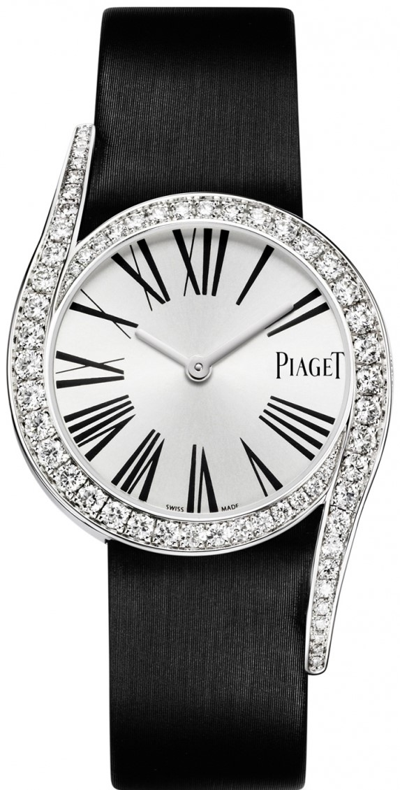 Piaget Limelight G0A38160Наручные часы<br>Швейцарские часы Piaget Limelight G0A38160<br><br>Пол: Женские<br>Страна-производитель: Швейцария<br>Механизм: Кварцевый<br>Материал корпуса: Белое золото 18К<br>Материал ремня/браслета: Кожа и текстиль<br>Водозащита, диапазон: 20 - 100 м<br>Стекло: Сапфировое<br>Толщина корпуса: None<br>Стиль: Классика