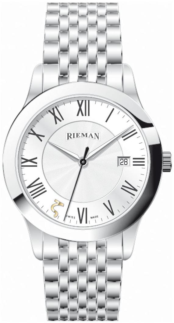 Rieman Radical R1040.121.012Наручные часы<br>Швейцарские часы Rieman Radical R1040.121.012Часы входят в модельный ряд коллекции Radical. Это мужские часы. Материал корпуса часов &amp;mdash; сталь. Стекло - сапфировое. Водозащита этой модели 30 м. Цвет циферблата - серый. Из основных функций на циферблате представлены: часы, минуты, секунды. В этой модели используются такие усложнения как дата, . Часы обладают корпусом 40мм.<br><br>Пол: Мужские<br>Страна-производитель: Швейцария<br>Механизм: Кварцевый<br>Материал корпуса: Сталь<br>Материал ремня/браслета: Сталь<br>Водозащита, диапазон: 20 - 100 м<br>Стекло: Сапфировое<br>Толщина корпуса: None<br>Стиль: Классика