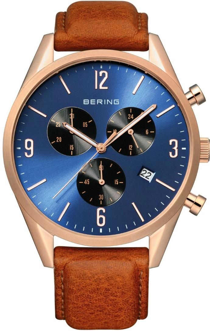 Bering Classic 10542-467Наручные часы<br>Датские часы Bering Classic 10542-467<br><br>Пол: Мужские<br>Страна-производитель: Дания<br>Механизм: Кварцевый<br>Материал корпуса: Сталь<br>Материал ремня/браслета: Кожа<br>Водозащита, диапазон: None<br>Стекло: Сапфировое<br>Толщина корпуса: None<br>Стиль: None